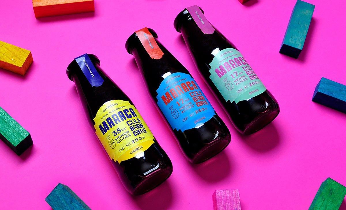 插图包装的应用案例,vi设计,包装vi设计,冷咖啡品牌vi设计,餐饮vi设计