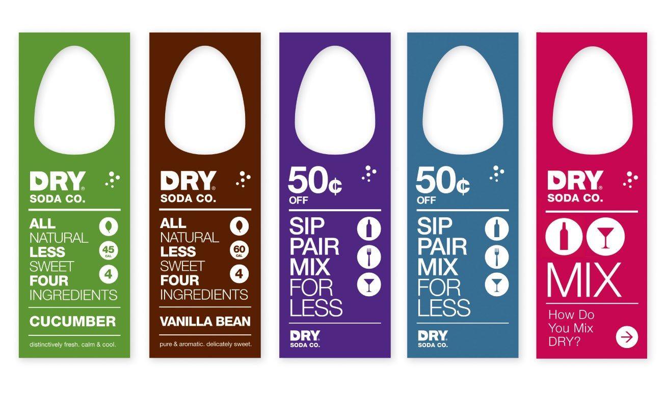 一款优秀的干苏打饮料品牌包装|vi形象设计|vi系统|vi