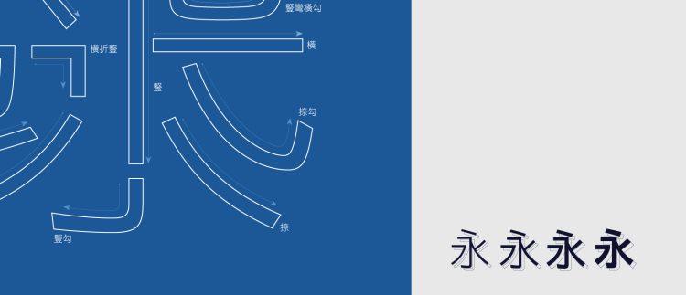 最高品质黑体字型——信黑休 字体设计 深圳vi设计