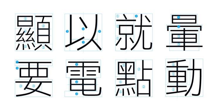 最高品質黑體字型——信黑休 字體設計 深圳vi設計