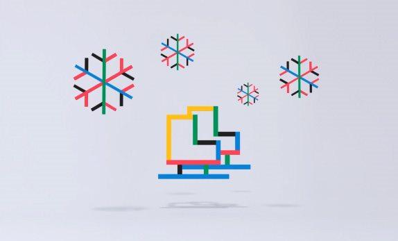 2018年韩国平昌冬季奥运会视觉形象图片