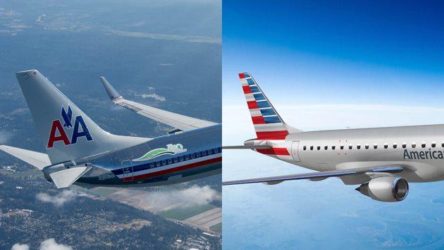 新美国航空公司飞机外观涂装确定
