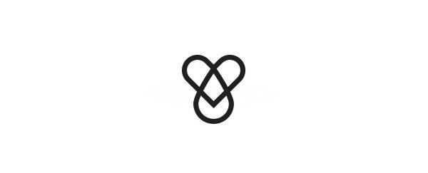 国外优秀创新走字体标志设计欣-左右格局vi