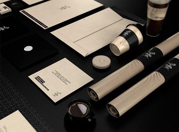 5组咖啡厅vi设计案例图片