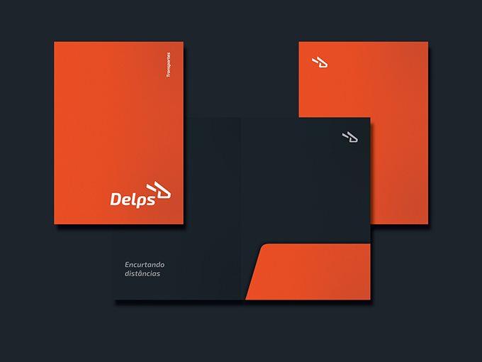 delps物流企业视觉形象设计