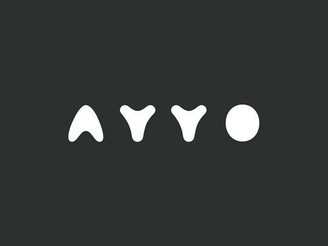 娱乐传媒工作室ayyo品牌形象设计 左右格局知名深圳vi设计公司