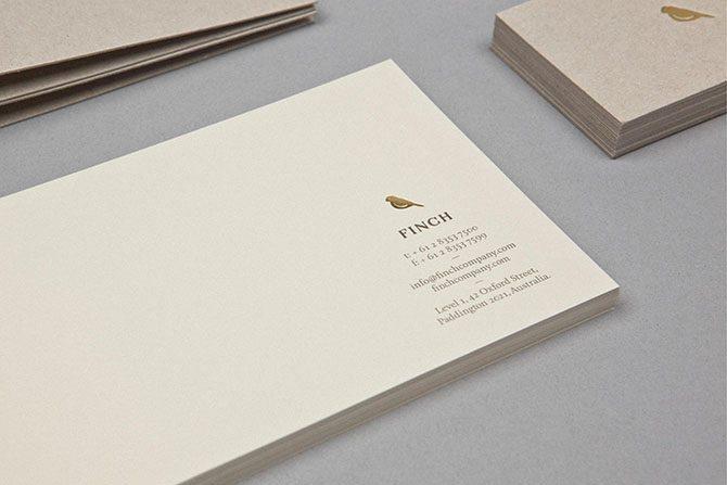 澳大利亚工艺研究室Finch是一家专注于印刷工艺和制作的一家公司,服务于各行各业高端客户。深圳vi设计公司左右格局为其提供全方位品牌形象设计,整体形象抛弃繁琐的约束,以高水准的设计和工艺呈现高端大气上档次的企业气质。