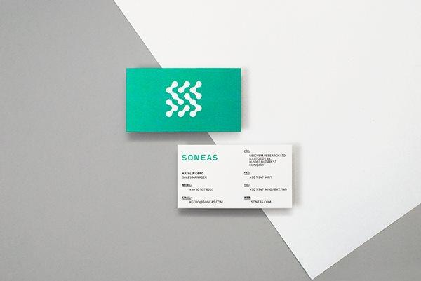 生化企业soneas品牌形象设计
