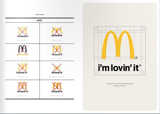 麦当劳企业vi设计标准手册