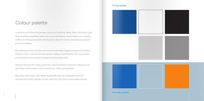 福特(ford)汽车企业vi设计手册欣赏