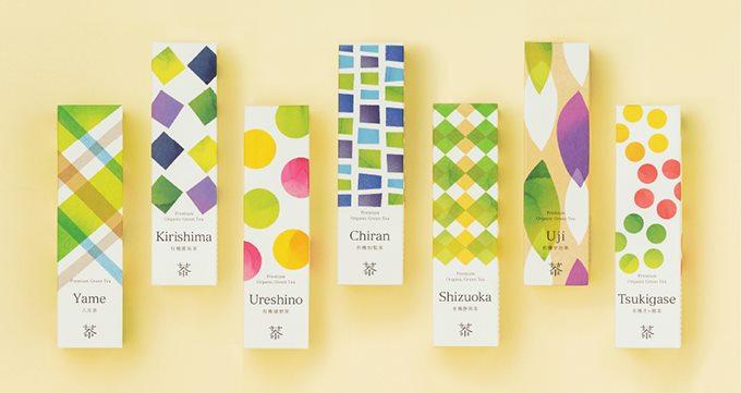 有机茶整套vi设计案例|vi形象设计|vi系统设计|公司