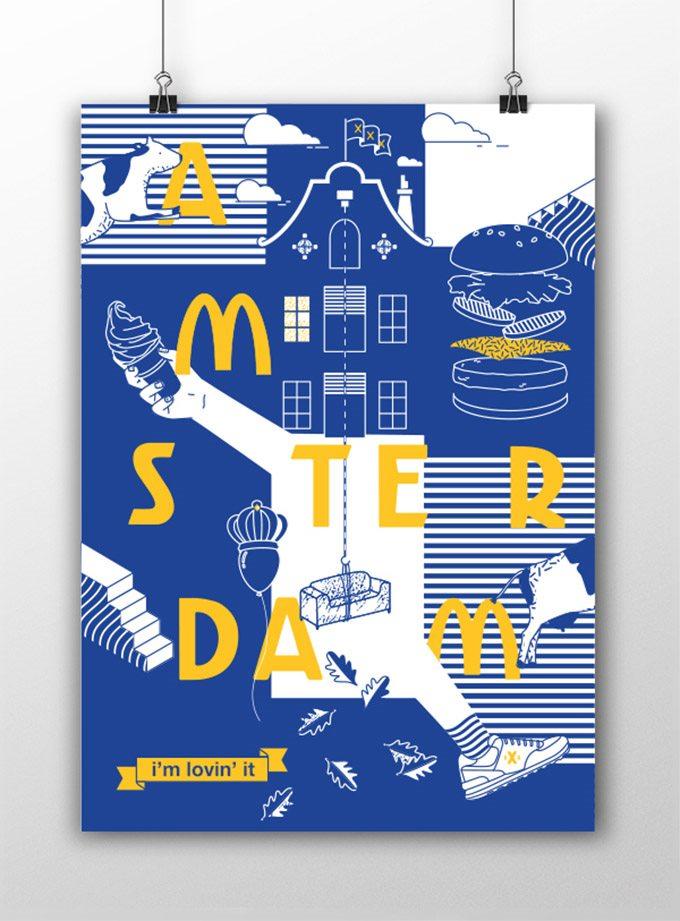 麦当劳全新包装视觉形象|vi形象设计|vi系统设计|公司