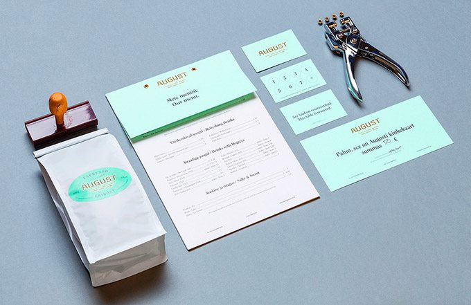 august咖啡厅vi手册|vi形象设计|vi系统设计|公司vi
