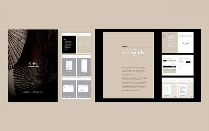 ghm酒店vi设计案例|vi形象设计|vi系统设计|公司vi