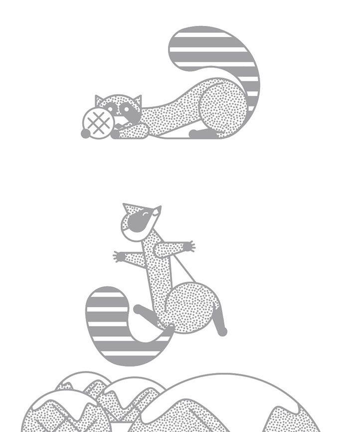 手绘海报简笔画插图
