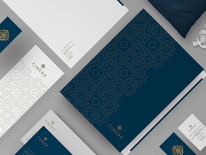 finera纺织品品牌形象设计