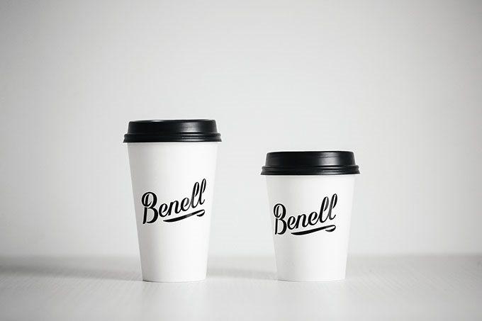 benell食品包装设计,标志设计